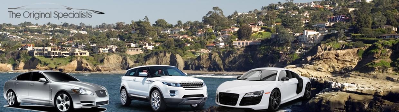 Jaguar, Land Rover, Audi Repair and Service La Jolla, California The