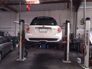 mini cooper repair in San Diego our 7000sq feet facility
